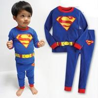 ชุดนอน-SUPERMAN-รุ่นจิ๋ว-สีน้ำเงิน