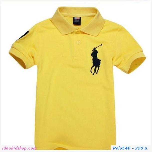 เสื้อยืดโปโล Ralph Lauren No.3 สีเหลือง