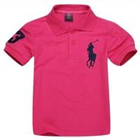 เสื้อยืดโปโล-RL-No.3-สีชมพูเข้ม