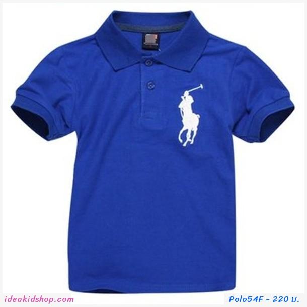 เสื้อยืดโปโล Ralph Lauren No.3 สีน้ำเงิน