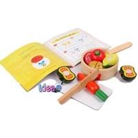 ชุดของเล่นไม้พร้อมนิทาน-Cooking-Lessons