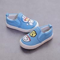 รองเท้าผ้าใบแบบสวม-Doraemon-สีฟ้า