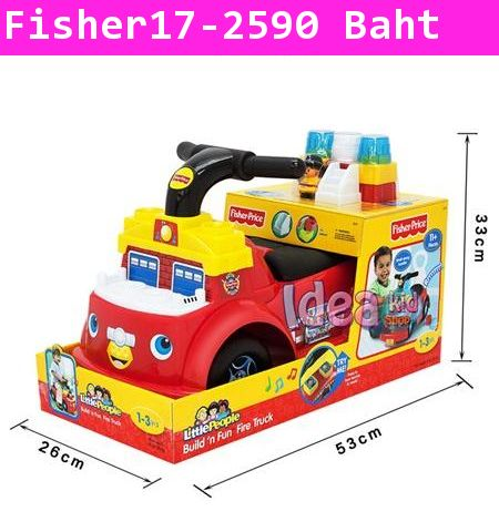 Fisher Price Little People Build n Fun Fire Truck