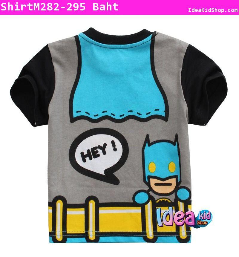 เสื้อแขนสั้น HEY BATMAN