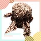 หมวกโพกหัวโจรสลัด-เสือดาวเล็ก-สีน้ำตาล