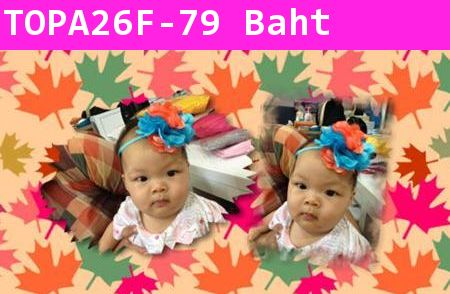 baby headband Colorful แบบ F