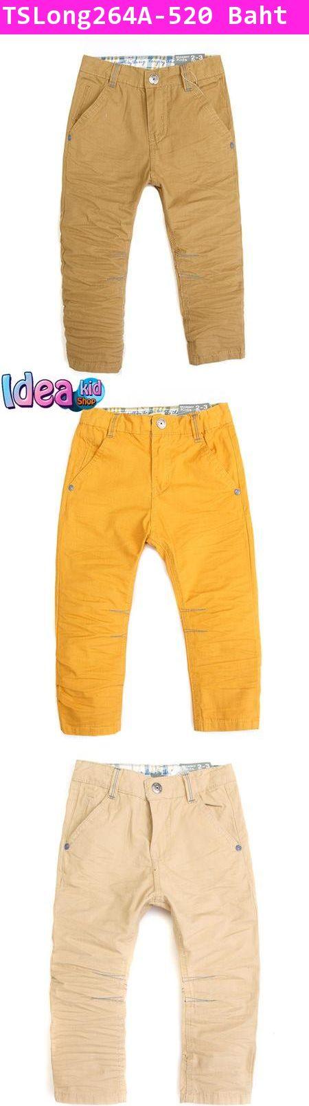 กางเกงขายาว Since 1975 สีน้ำตาล