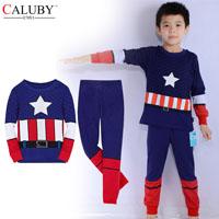 ชุดเสื้อกางเกง-Captain-America--