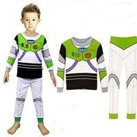 ชุดเสื้อกางเกง-Buzz-Lightyear-โทนขาวเขียว