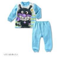 ชุดนอนเด็ก-อันปังแมน-ไบคินแมน-สีฟ้า