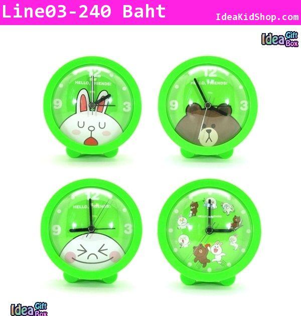 นาฬิกาปลุกตั้งโต๊ะ Line Character Cony