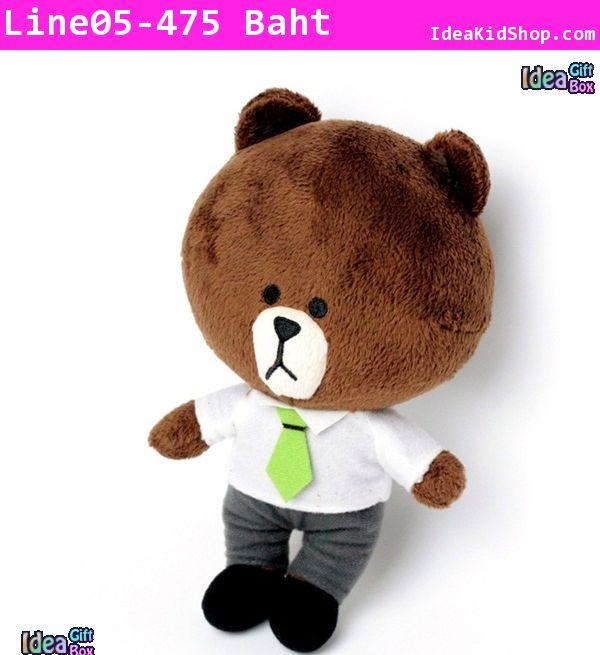 ตุ๊กตา Line character Brown หัวโต (ไซส์ใหญ่)