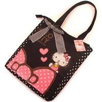 กระเป๋าสะพายบ่า-Hello-Kitty-_-Bow-สีดำ