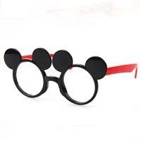กรอบแว่นตาแฟชั่นคุณหนู-Mickey-Mouse-สีแดง