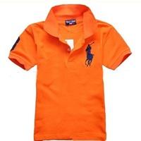 เสื้อยืดโปโล-RL-No.3-สีส้ม
