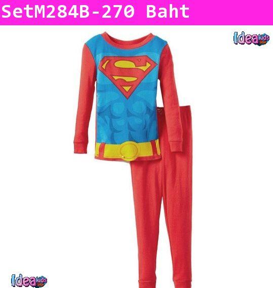 เสื้อและกางเกง Superman