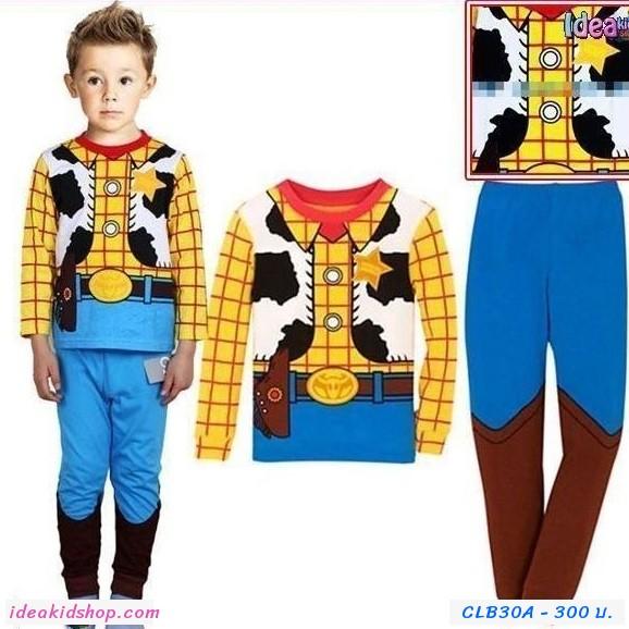 ชุดเสื้อกางเกง คาวบอย Toy นายอำเภอ Woody