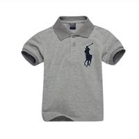 เสื้อยืดโปโล-RL-No.3-สีเทา