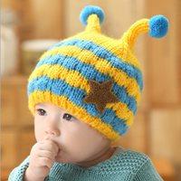 หมวกกันหนาวไหมพรม-บีบี-สีเหลือง