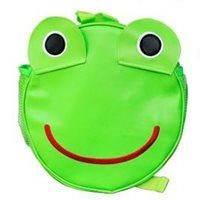 กระเป๋าสะพายหลังกล๊มกลม-กบน้อย-สีเขียว
