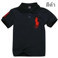เสื้อยืดโปโล-RL-No.3-สีดำ