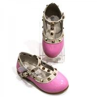 รองเท้าเด็ก-สไตล์-Valentino-kid-V.2-สีชมพู
