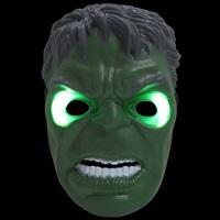 หน้ากากแฟนซี-3D-มีไฟ-Hulk-สีเขียว