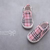 รองเท้าผ้าใบ-Canvas-Burberry-สีชมพู
