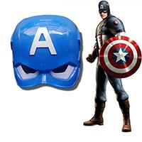 หน้ากากแฟนซี-3D-มีไฟ-Captain-America