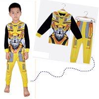 เสื้อและกางเกง-หุ่นยนต์-bumblebee-โทนสีเหลืองดำ
