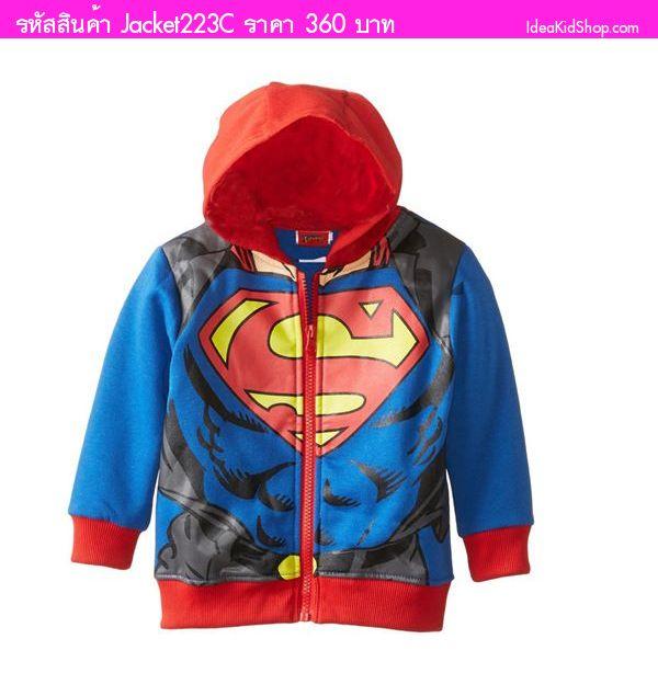 เสื้อกันหนาว SuperMan โชว์กล้าม