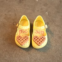 รองเท้าเด็ก-หัวใจใหญ่-สไตล์-Mini-Melissa-สีเหลือง-