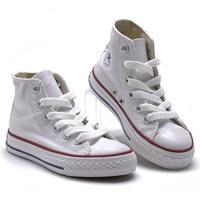 รองเท้าผ้าใบหุ้มข้อ-สไตล์-Converse-สีขาว