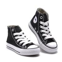 รองเท้าผ้าใบหุ้มข้อ-สไตล์-Converse-สีดำ