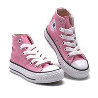 รองเท้าผ้าใบหุ้มข้อ-สไตล์-Converse-สีชมพู