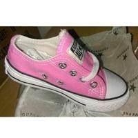 รองเท้าผ้าใบหุ้มส้น-Converse-สไตล์ชมพู่-สีชมพู