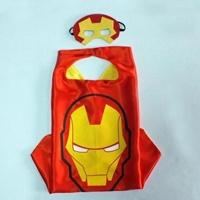 ผ้าคลุมแฟนซี-พร้อมหน้ากาก-ลาย-Ironman
