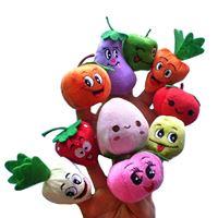 ตุ๊กตานิ้ว-สวนผักผลไม้หรรษา-(แพค-10-ตัว)