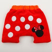 กางเกงขาสั้นผ้าขนหนู-Minnie-Mouse-ลายจุด-สีแดง