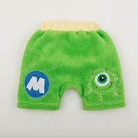 กางเกงขาสั้นผ้าขนหนู-Monster-สีเขียว