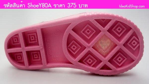รองเท้ายางเด็ก PRETTY PEPPA สีชมพู