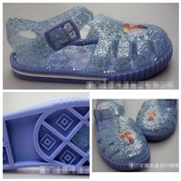 รองเท้ายางเด็ก-Frozen-ELSA_ANNA-สีฟ้า