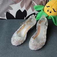 รองเท้า-Frozen-Cinderella-princess-รุ่นรังนก-สีขาว