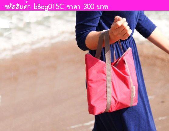 กระเป๋า Air Multi bag สีชมพูแดง