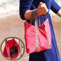 กระเป๋า-Air-Multi-bag-สีชมพูแดง