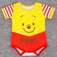 บอดี้สูทหนูน้อย-Pooh-สีเหลืองแดง