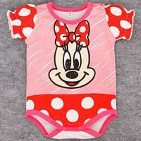 บอดี้สูทหนูน้อย-Minnie-Mouse-สีแดง