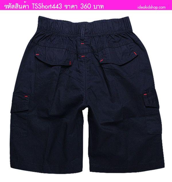 กางเกงขาสั้นเด็กโต Ralph Lauren สีกรม(ไซส์15-23)