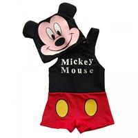 ชุดว่ายน้ำ-Mickey-Mouse-พร้อมหมวก