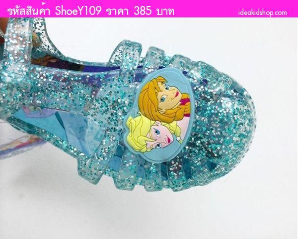 รองเท้ายางรัดส้นเจ้าหญิง Frozen ELSA And ANNA